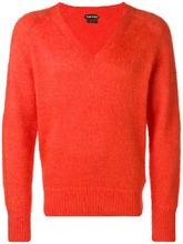 Tom Ford   классический свитер с V-образной горловиной   Clouty
