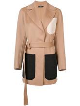 JOSEPH | пальто миди с поясом | Clouty
