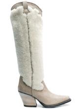 McQ Alexander Mcqueen | knee length cowboy boots | Clouty