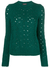 Roberto Collina | perforated jumper | Clouty