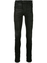 Rta   distressed patch skinny jeans   Clouty