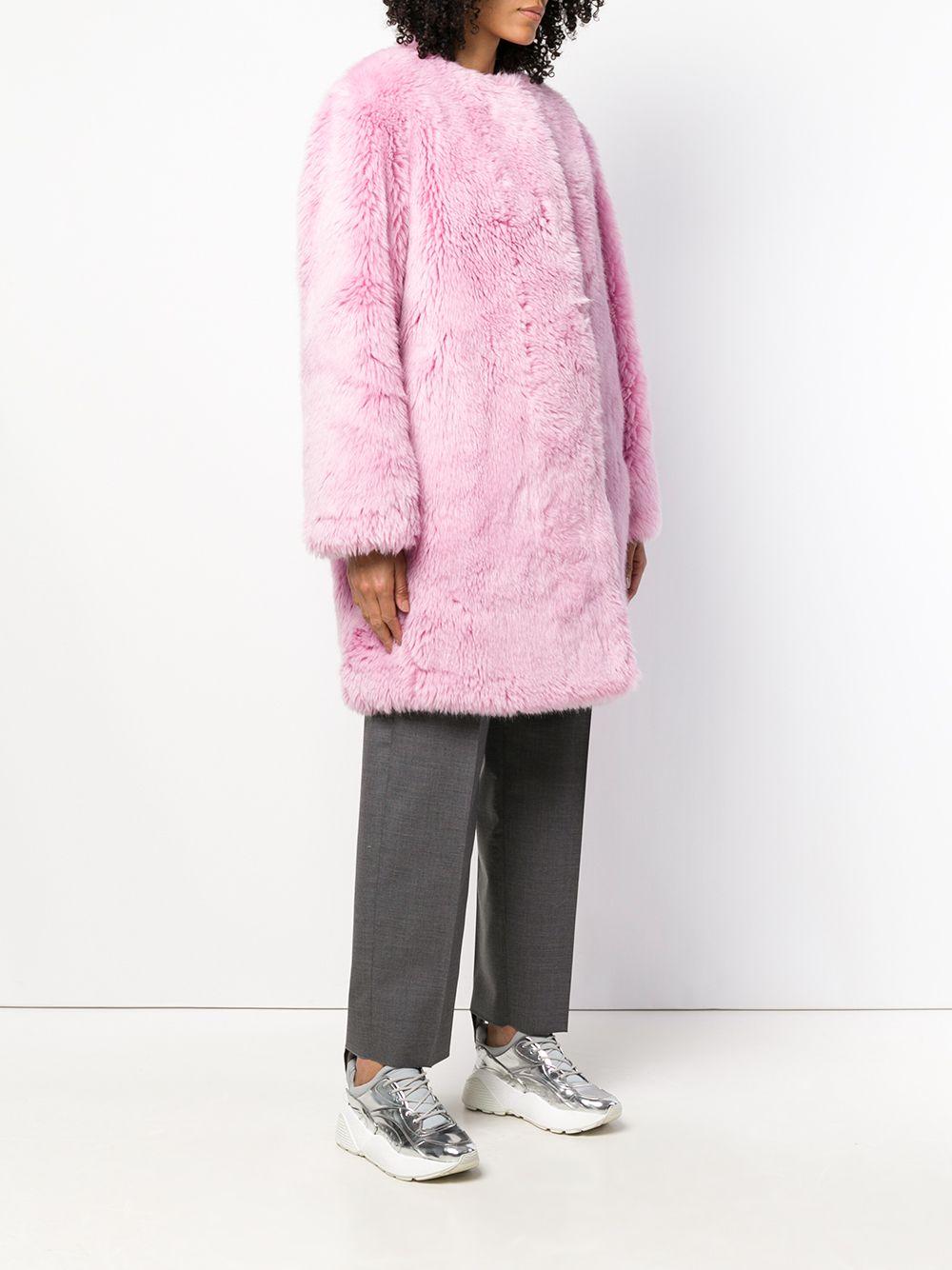 MSGM | faux fur coat | Clouty