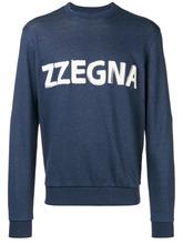 Z Zegna | logo patch sweatshirt | Clouty