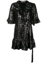 Amen   платье мини с короткими рукавами и запахом   Clouty