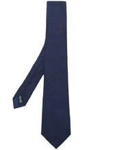 SALVATORE FERRAGAMO | geometric print tie | Clouty