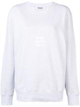 MSGM | свитер с принтом 'Identity Unit' | Clouty