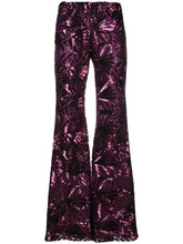 P.A.R.O.S.H.   '70s disco flared trousers   Clouty