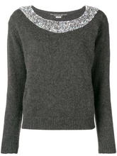 Ermanno Scervino | knit sweater with embellishments | Clouty