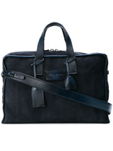 Santoni   suede holdall   Clouty