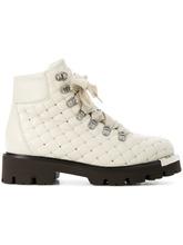 Baldinini | стеганые ботинки с заклепками | Clouty