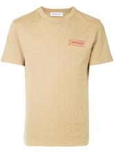 Ground Zero | футболка с принтом 'Damaged' | Clouty
