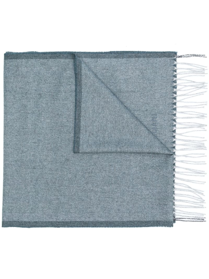 Corneliani   fringed scarf   Clouty
