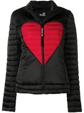 Love Moschino | heart print padded jacket | Clouty