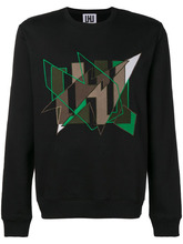 Les Hommes | embroidered logo sweatshirt | Clouty