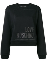 Love Moschino | logo sweatshirt | Clouty