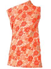 JIL SANDER | floral asymmetric dress | Clouty