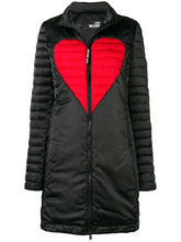 Love Moschino | heart padded coat | Clouty