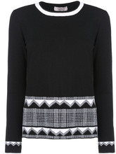 D.Exterior | свитер с узором | Clouty