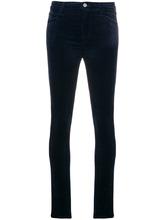 J Brand   velvet skinny trousers   Clouty