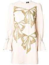 Elisabetta Franchi | embellished bows dress | Clouty