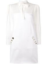 Elisabetta Franchi | платье шифт с бантом | Clouty