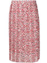 Dondup | плиссированная юбка с цветочным принтом | Clouty
