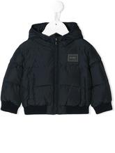Dolce & Gabbana Junior | padded logo coat | Clouty