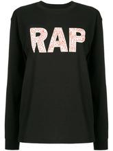 6397 | свитер с надписью 'Rap' | Clouty