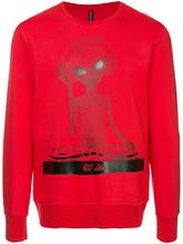 Blackbarrett | 'DJ Alien' print sweatshirt | Clouty