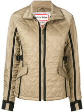 Hunter | quilted zipped jacket | Clouty