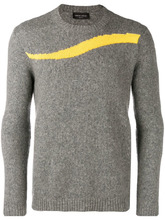 Roberto Collina | colour accent jumper | Clouty