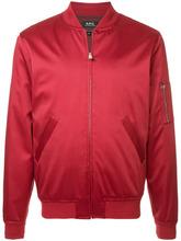 A.P.C. | куртка-бомбер на молнии | Clouty