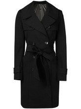 Plein Sud | double-breasted trench coat | Clouty