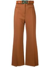 Elisabetta Franchi | укороченные брюки с высокой талией | Clouty