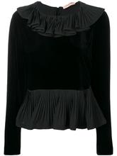 Twin-Set   блузка с оборками на горловине   Clouty
