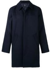 A.P.C. | однобортное пальто свободного кроя | Clouty
