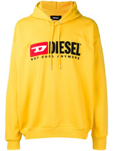 DIESEL | logo embroidered hoodie | Clouty