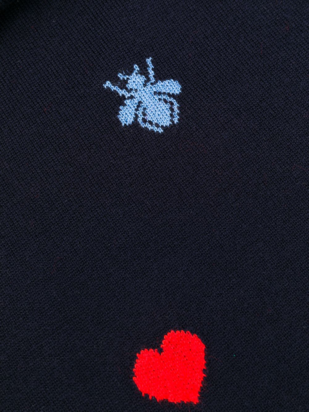 GUCCI | шарф с вышитым логотипом | Clouty