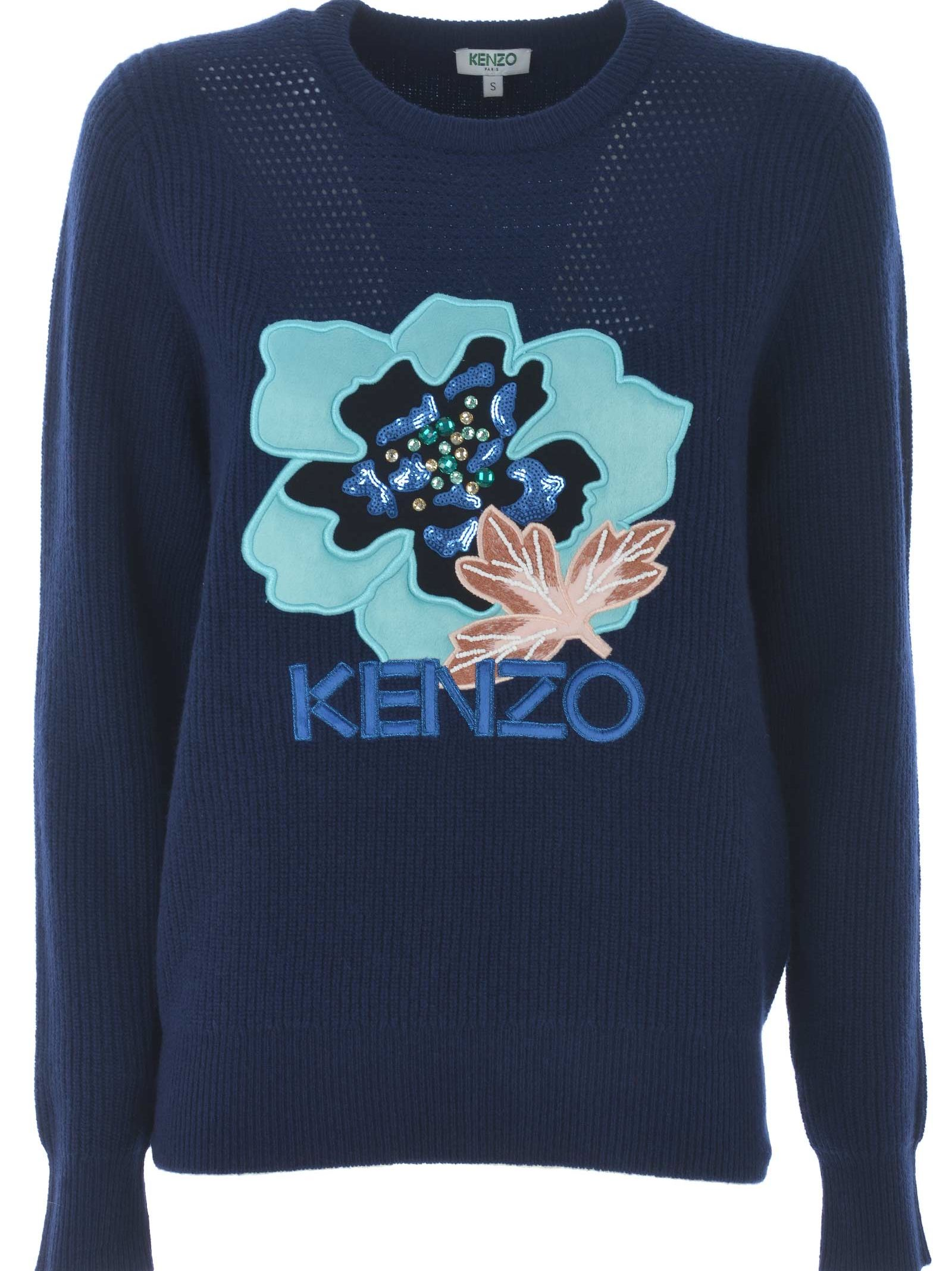 KENZO   Kenzo Embroidered Sweater   Clouty