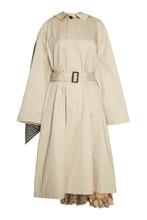 Balenciaga | Хлопковое пальто с плиссированной деталью | Clouty