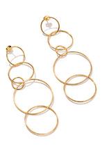 Exclaim | Серебряные серьги-кольца | Clouty