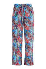 Etro | Шелковые брюки с графичным принтом | Clouty