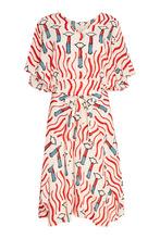 VALENTINO | Шелковое платье с ярким принтом | Clouty