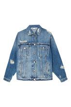 Stella McCartney | Джинсовая куртка с прорезями | Clouty