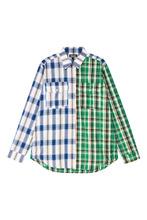 ARTEM KRIVDA   Рубашка из комбинированного хлопка   Clouty