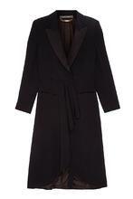 Alberta Ferretti | Длинное черное пальто | Clouty