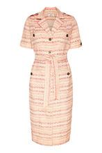 Laroom | Жаккардовое платье в полоску | Clouty
