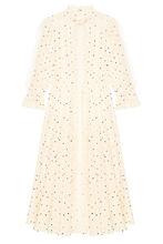 VALENTINO | Хлопковое платье с вышитыми точками | Clouty