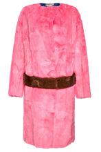 Marni | Розовая шуба из меха норки | Clouty