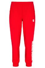 terekhov girl   Красные хлопковые брюки с вышивкой   Clouty